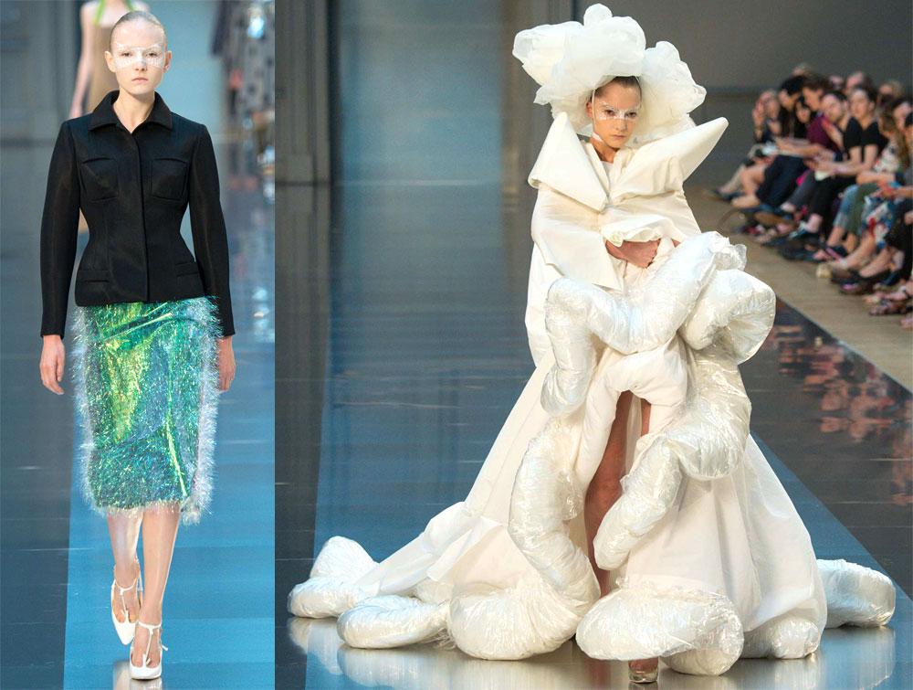 Alta-costura cabeça: entenda a importância da moda difícil de John Galliano na Maison Margiela