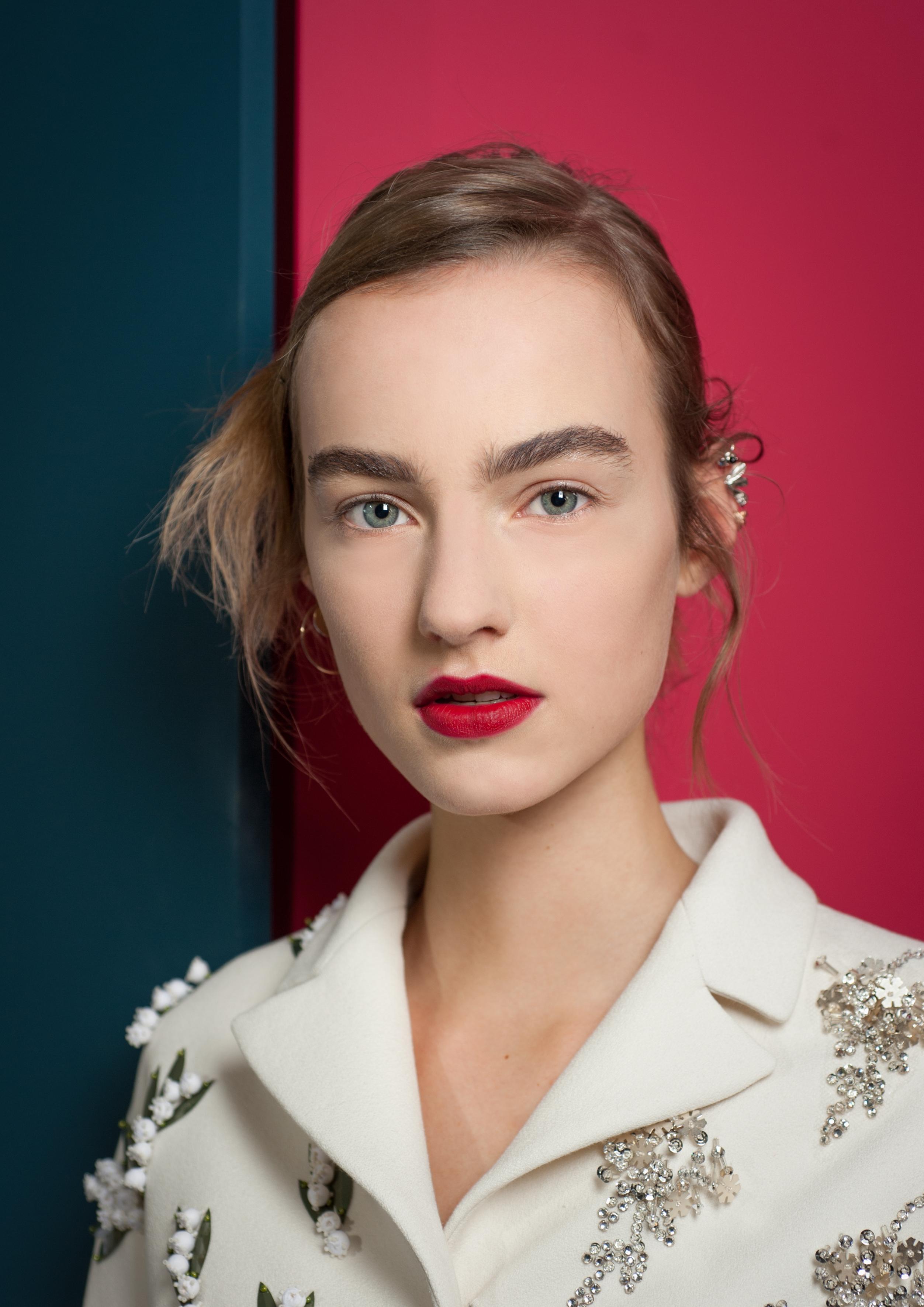 Beleza da Christian Dior Haute Couture, verão 2016. Foto: Vincent Lappartient/Christian Dior Parfums