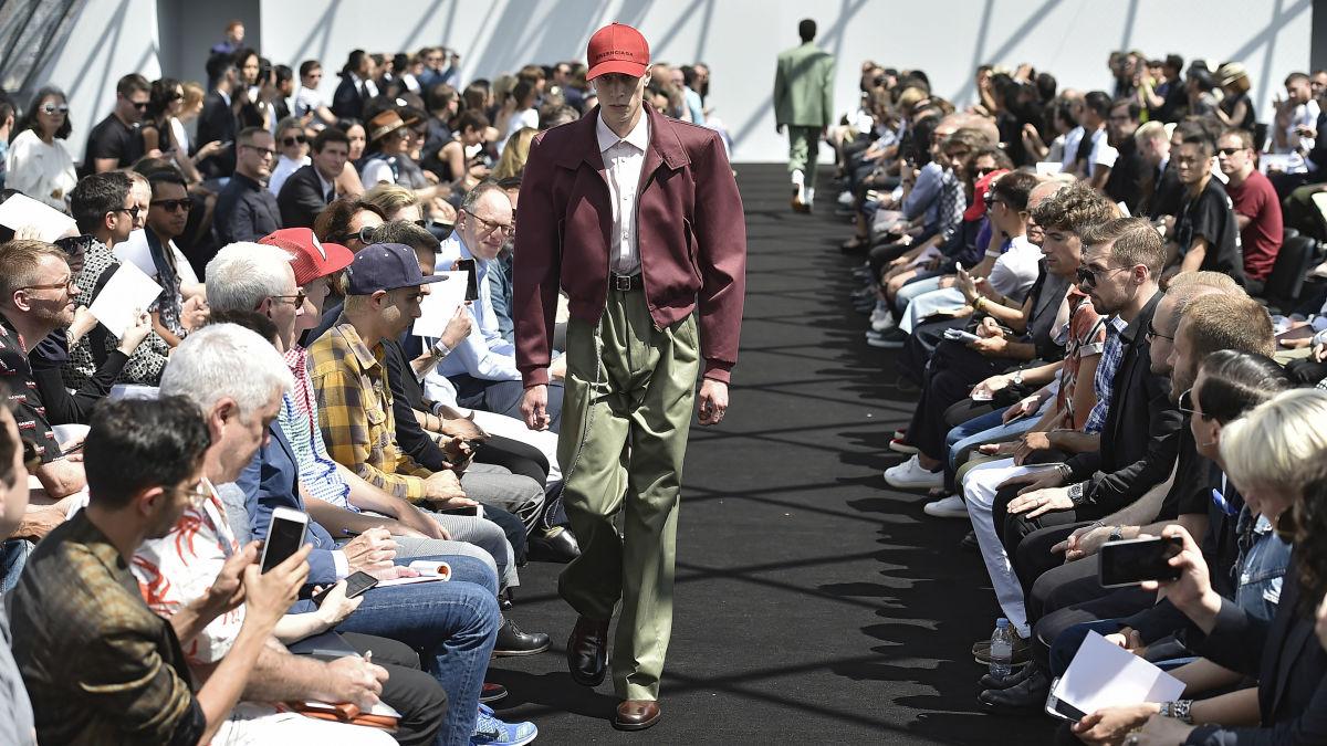 Balenciaga, verão 2017 masculino: o novo culto à moda