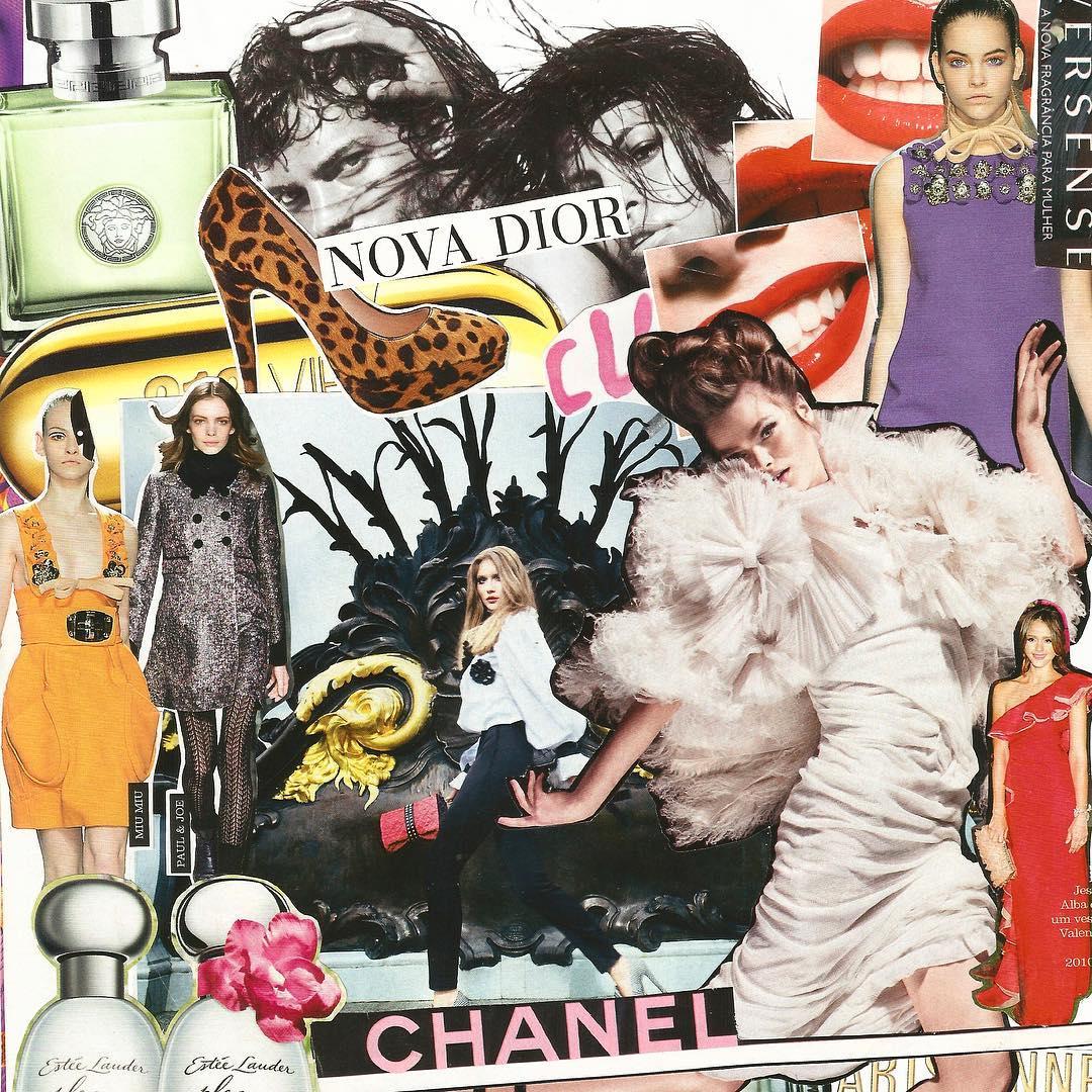 Vai lá e faz: as colagens fashionistas do Sacro & Profano