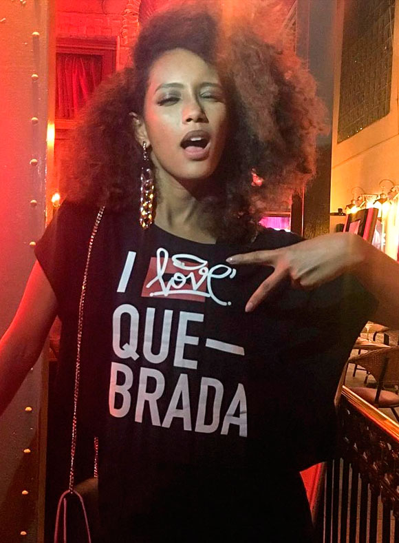 Tais Araújo de LAB: she loves quebrada!