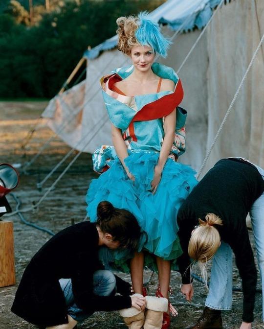 Cameron Diaz, Vogue EUA, 2003