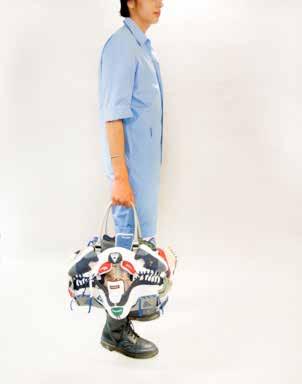 Finalista de acessórios: Jinah Jung (Coreia do Sul)