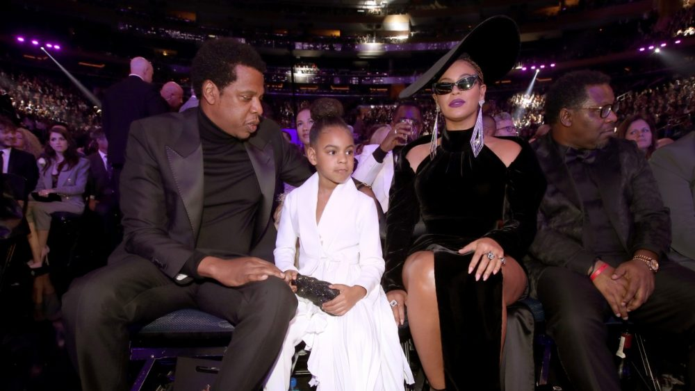 Grammy 2018: Jay-Z, Blue Ivy e Beyoncé