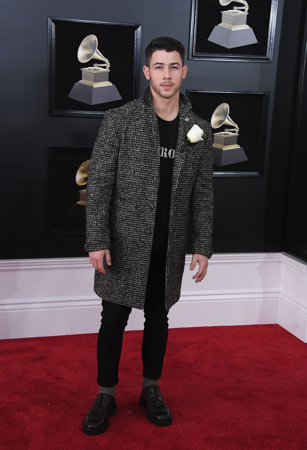 Grammy 2018: Nick Jonas, de John Varvatos
