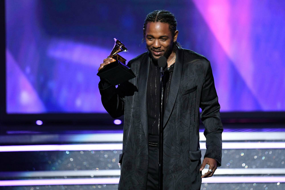 Kendrick Lamar - Grammy Awards 2018