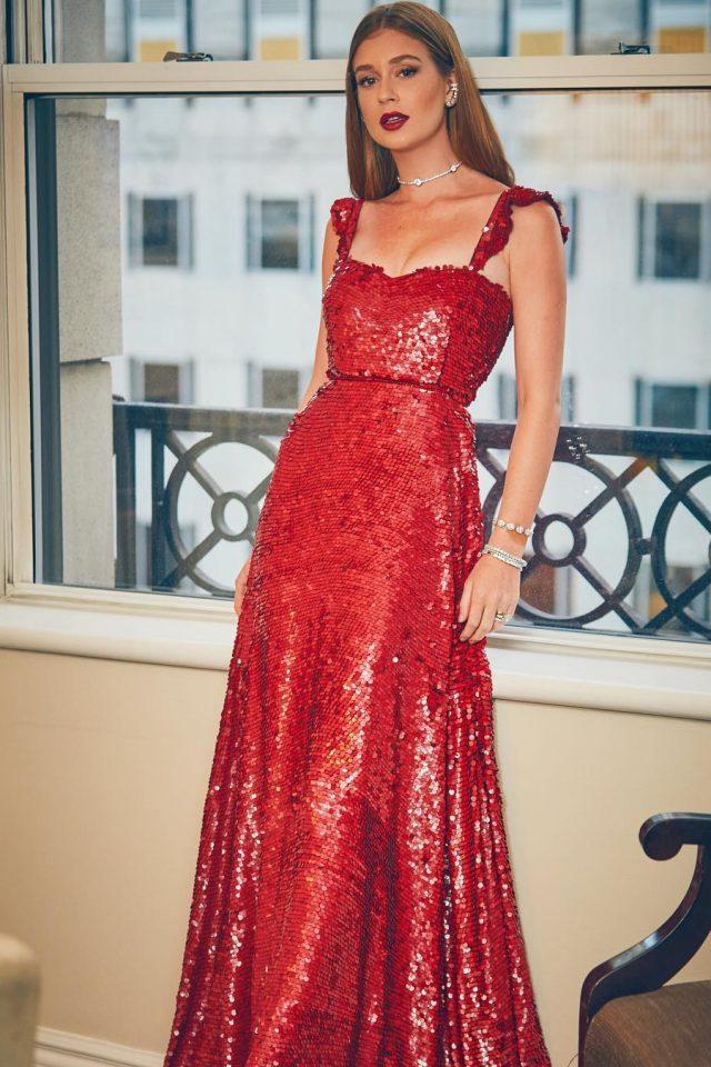 Look de Marina Ruy Barbosa - vestido Valentino