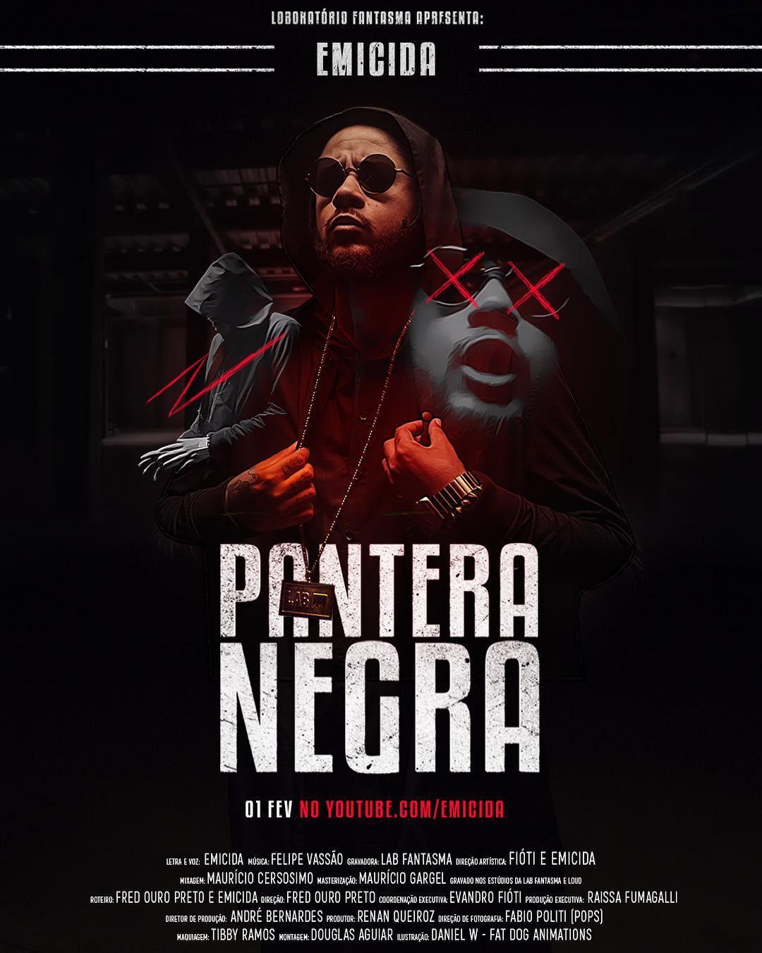 Emicida - Pantera Negra (clipe)
